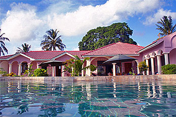 Holiday home and guest house Villa Annchen near Mombasa.